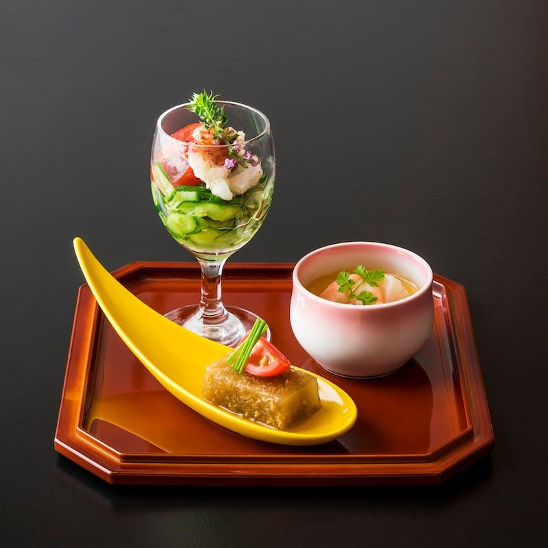 【月替り】「旬菜会席」+食後のコーヒー