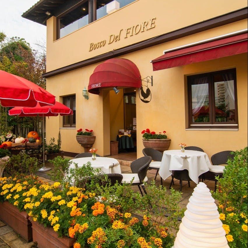 四季折々の自然が美しいフィオーレの森にあるイタリアンレストラン