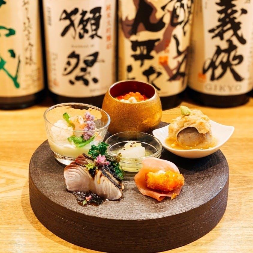おいしい料理と日本酒のマリアージュ