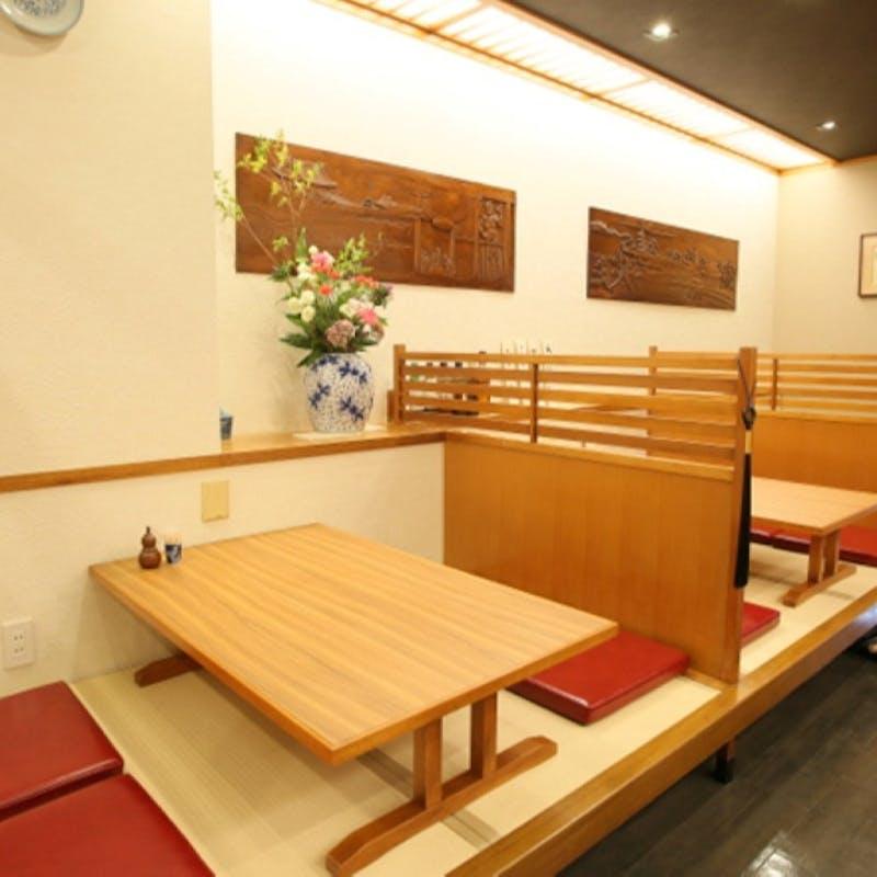 【会席】刺身、長焼、天ぷらなど(松)