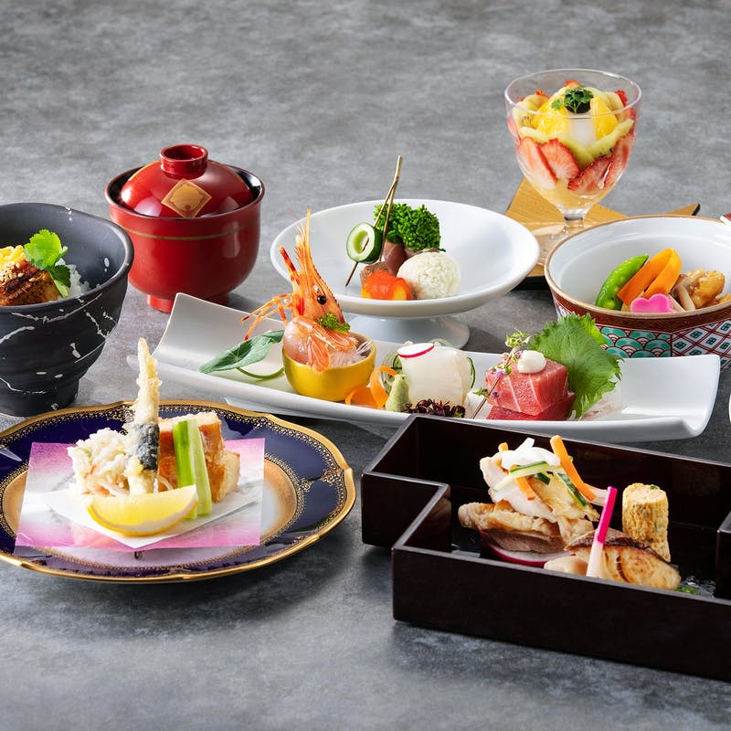【那須会席】月替わりの前菜、御造里、焼物、油物、御食事など全9品