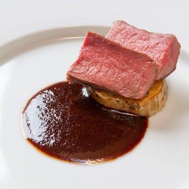 旬のジビエをフランス料理をベースとした逸品で…