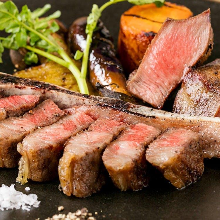こだわりのお肉料理
