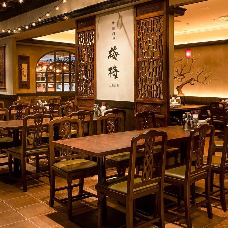 カジュアルに中華料理をお楽しみ頂けます