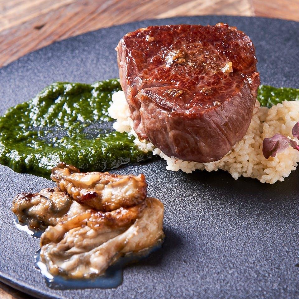 山形牛・金華豚などの肉料理