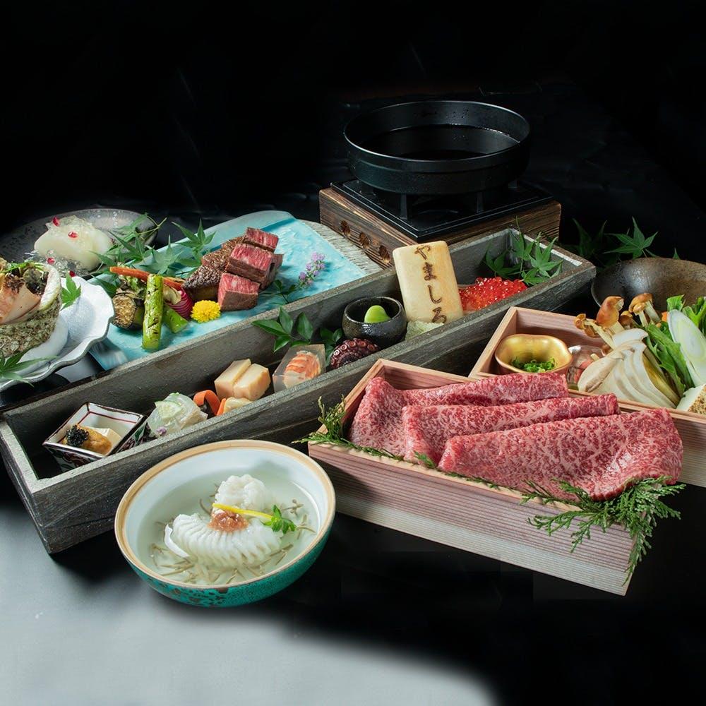 四季折々の趣向を凝らした料理と神戸牛料理