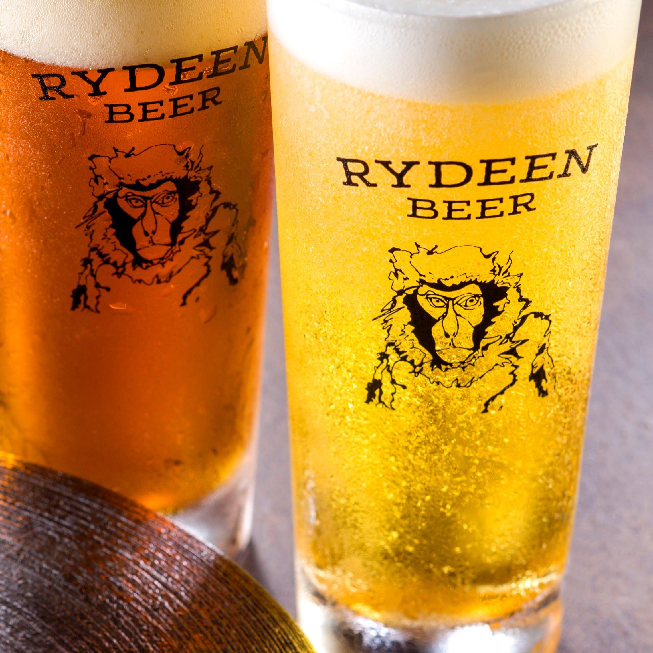 魚沼クラフトビール「RYDEEN」の生ビール全種