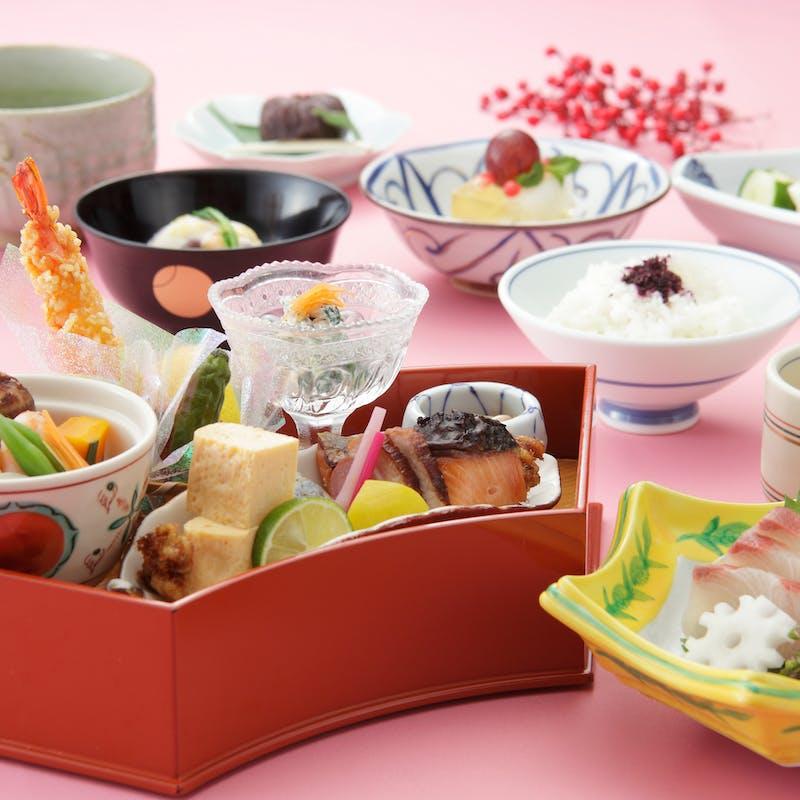 【業平御膳】前菜、椀盛り、造り、八寸など全7品(個室確約)