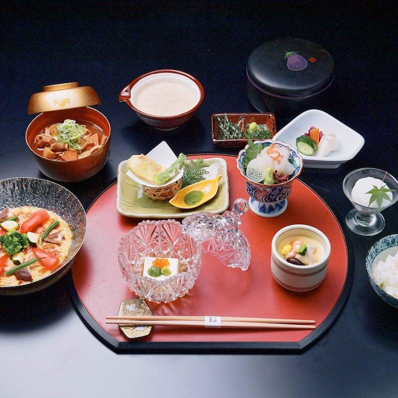 【ヘルシーとろろの武将御膳 ~三河の豊かな食材を食べる~】揚げ物、焼き物など全8品(個室確約)