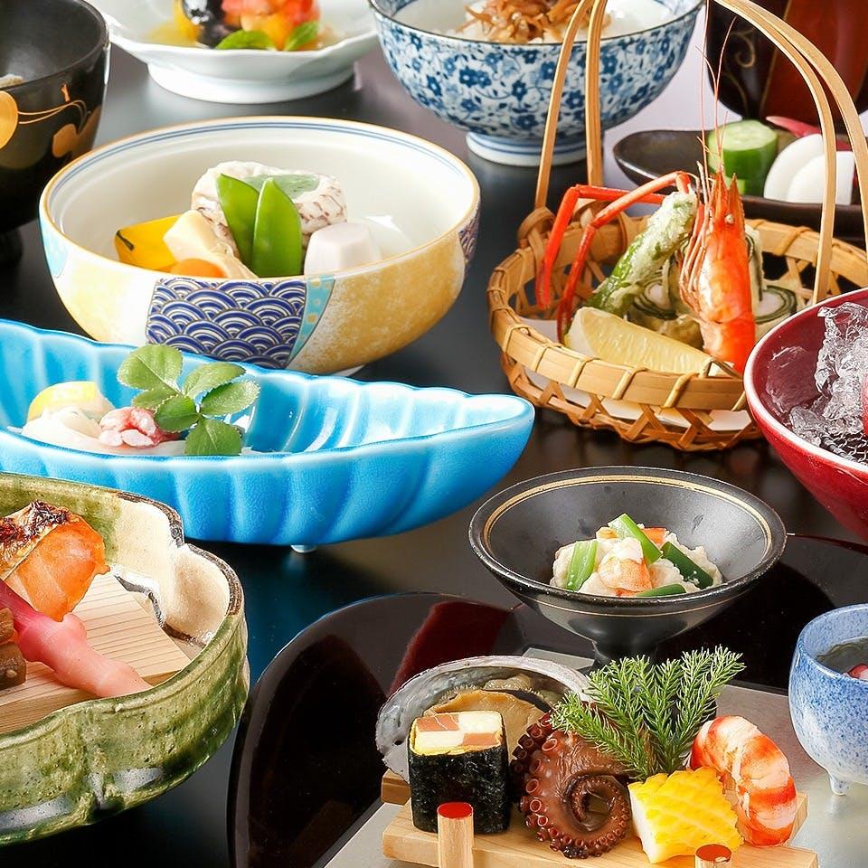 本格的な京料理