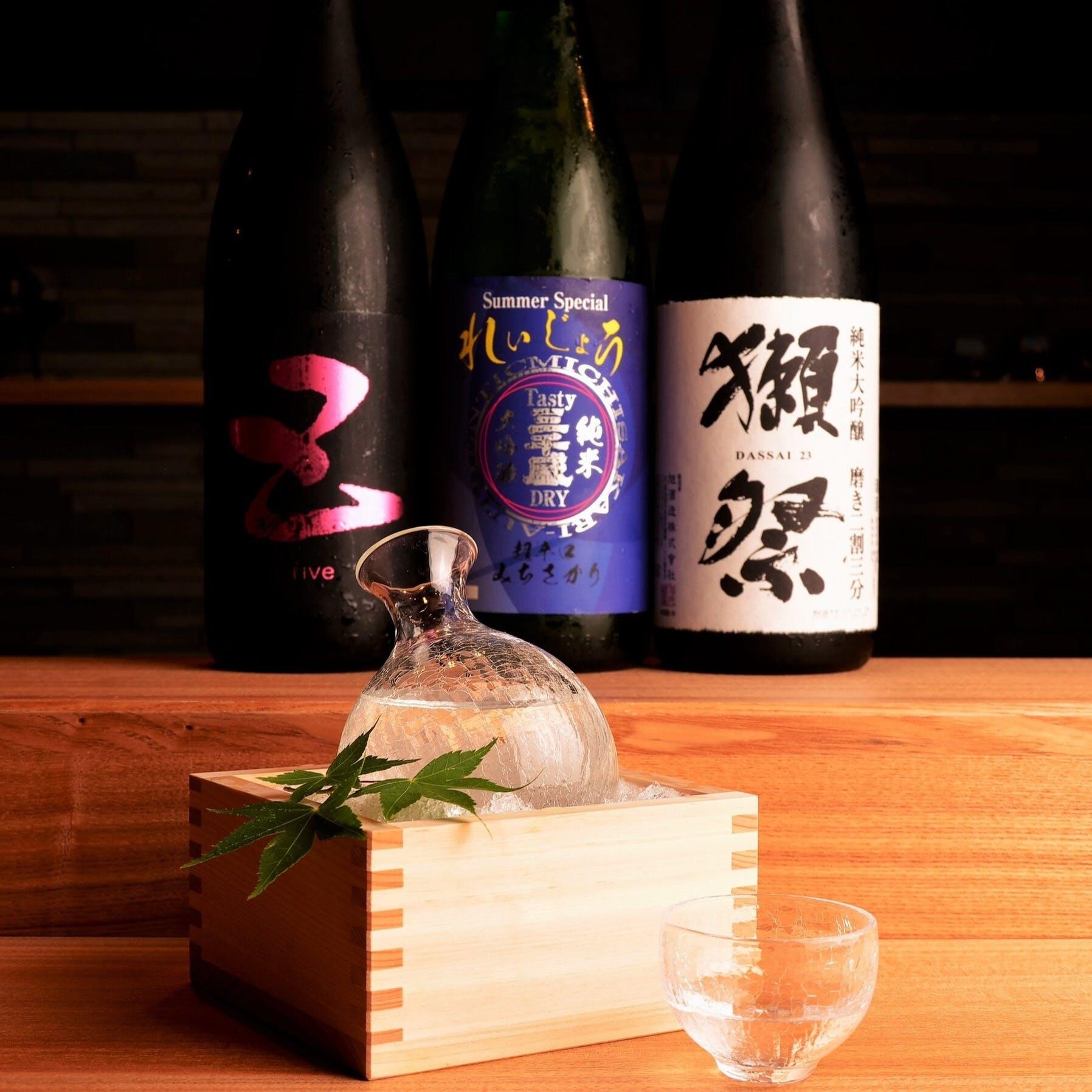 愛知の魚と地酒で日本の旬を味わう