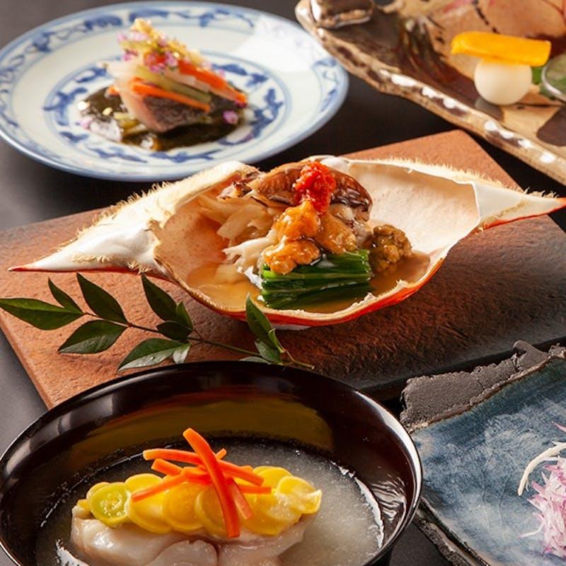 特別 和食×鮨×伊予牛 会席プラン+食前酒サービス(ソフトドリンク)(一休限定)