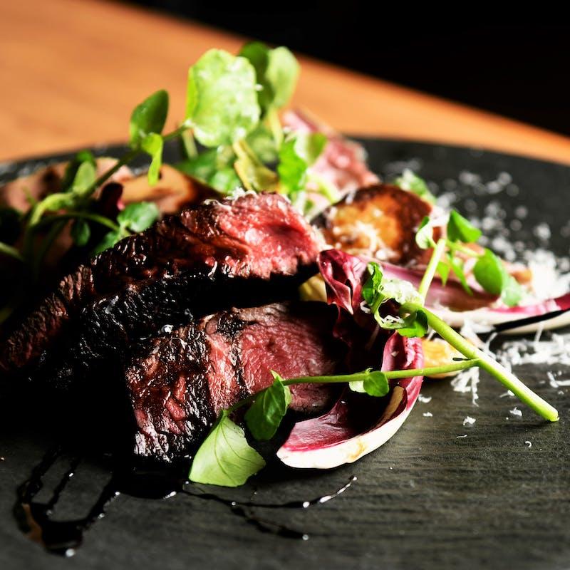【スペシャルランチコース】前菜、パスタ、牛フィレ肉など全5品