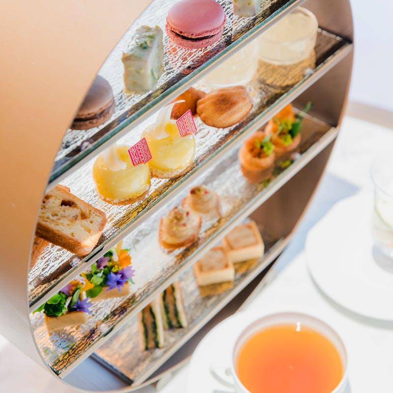 【アフタヌーンティーセット l ete(レテ・夏)】お好みの紅茶とともにお愉しみください