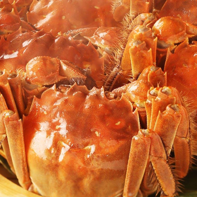 至福の上海蟹コース(ランチ)