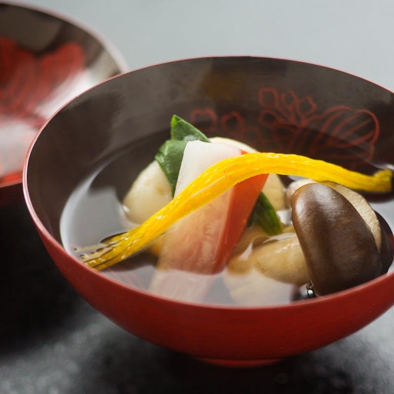 【京懐石~梅~】吸物、焼物、水物など全7品