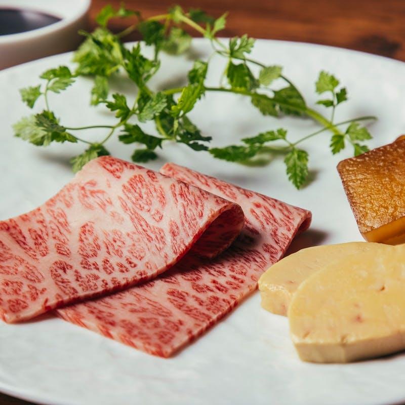 【季節コース】旬の食材と厳選和牛肉含む15品の豪華コース