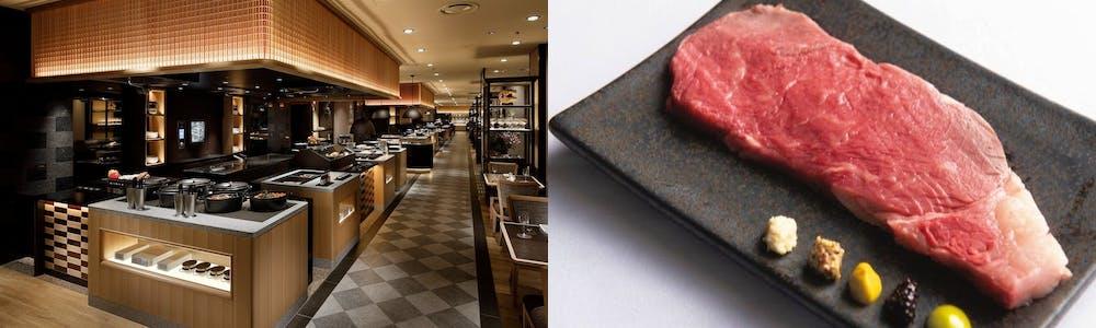 Buffet & Cafe SLOPE SIDE DINER ZAKURO/グランドプリンスホテル新高輪