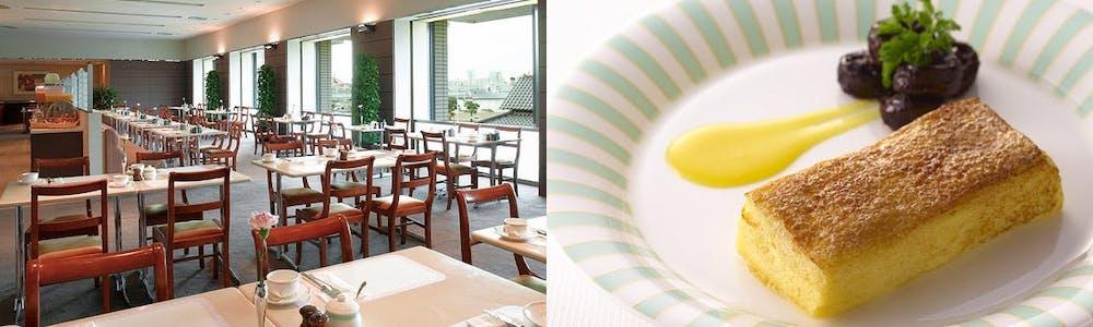 カフェレストラン カメリア/ホテルオークラ神戸