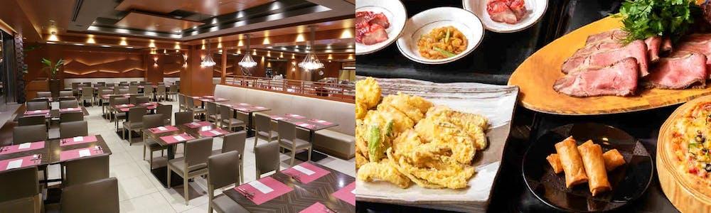 オールデイブッフェ コンパス/横浜ベイシェラトン ホテル&タワーズ