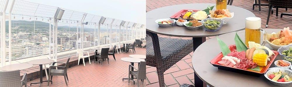Octavar 屋上ビアガーデン/ホテル京阪京都グランデ