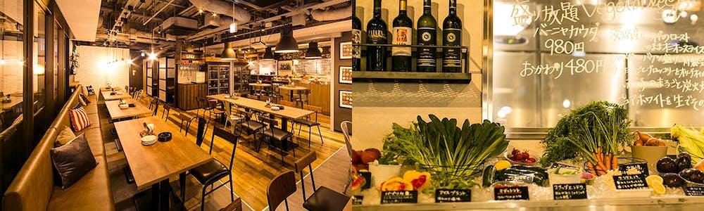 個室 肉バルvs魚バル デザインフードマーケット