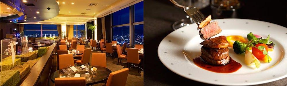 レストラン&バー「SKY J」/JRタワーホテル日航札幌