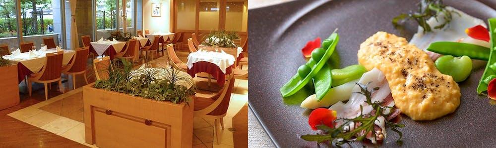 カフェレストラン ソレイユ/ホテルプラザ勝川