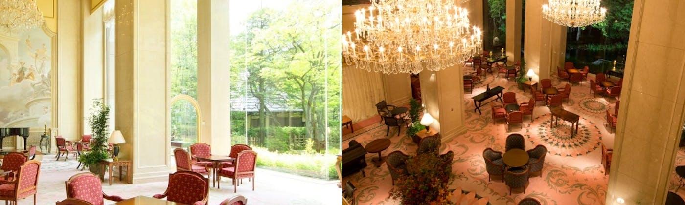 ガーデンラウンジ/リーガロイヤルホテル東京