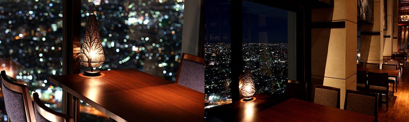 星空の中へ/新宿野村ビル50F