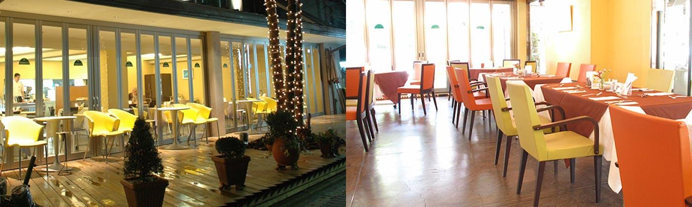 カフェレストラン フェルマータ / ザ・パレスサイドホテル