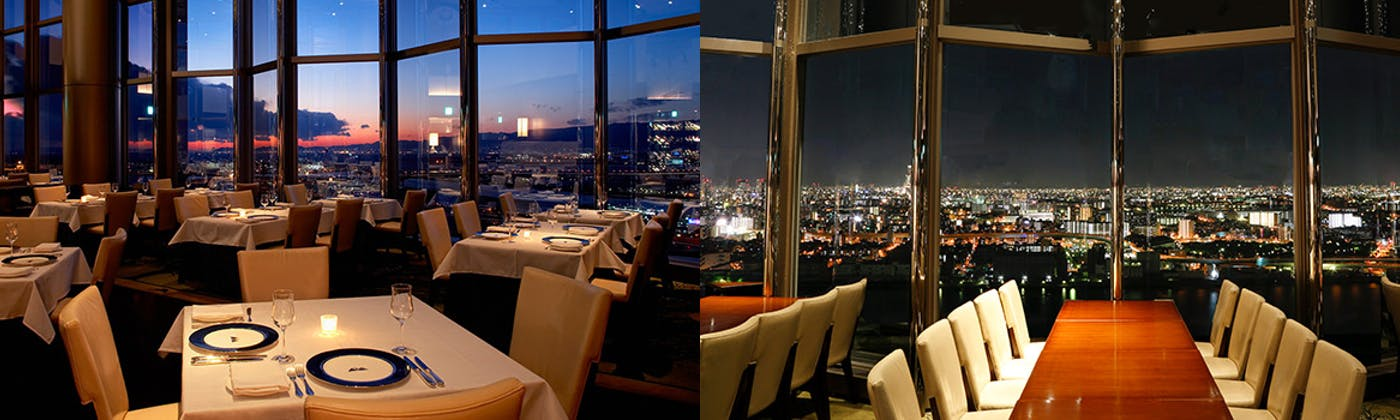 スカイレストラン&バー Top of Universal/ホテル京阪 ユニバーサル・タワー32F