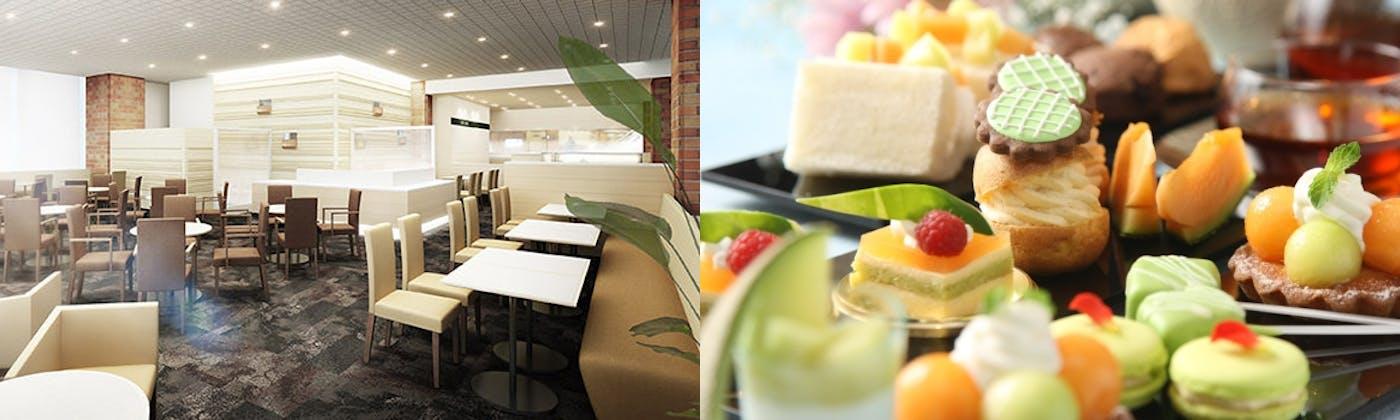 カフェ ミナモ/ANAクラウンプラザホテル札幌