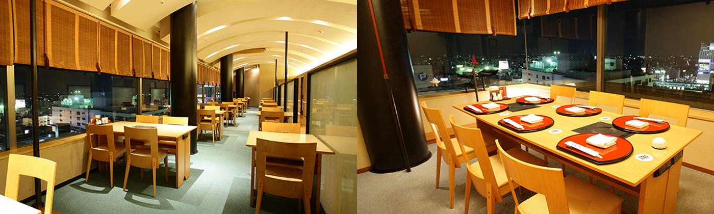 浦和椿山荘/浦和ワシントンホテル12F
