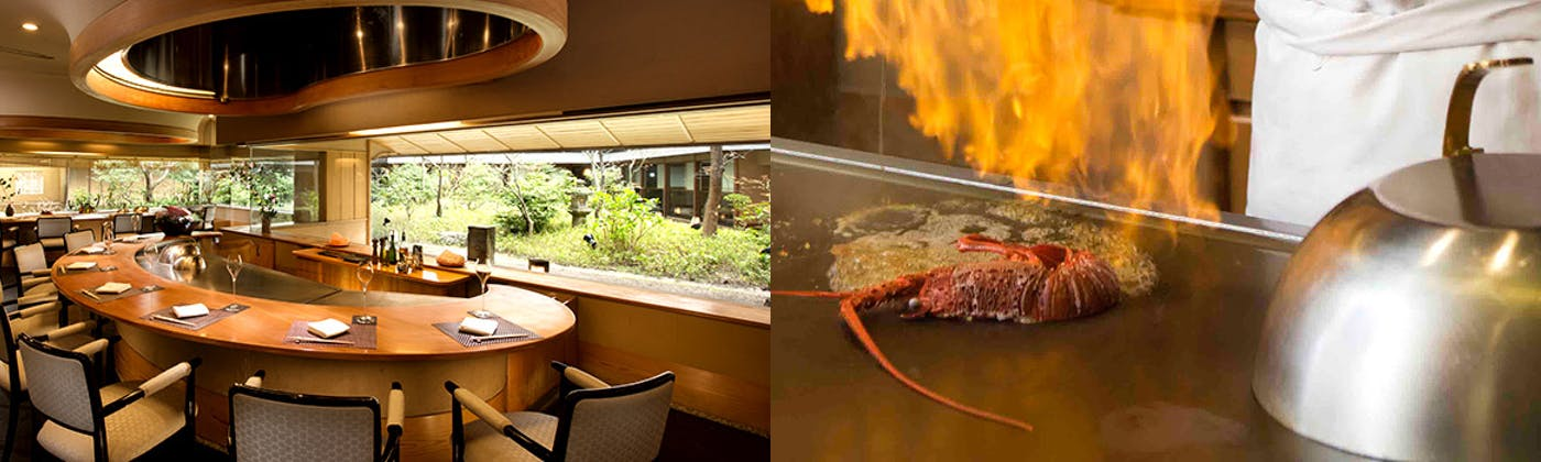 日本料理「さくら」鉄板焼きカウンター/ヒルトン東京お台場