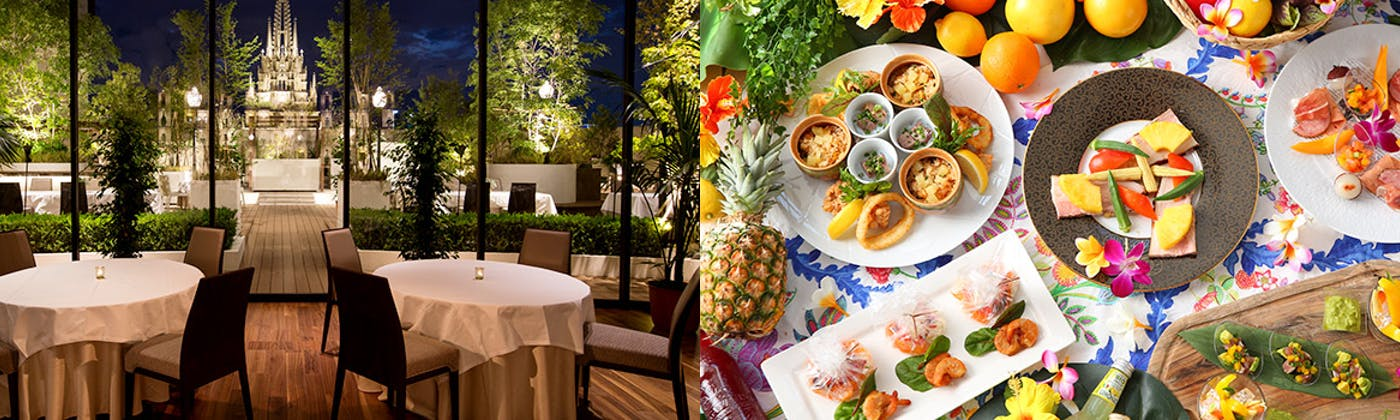 ストリングスホテル名古屋 北海道ビアガーデン/沖縄ビアガーデン