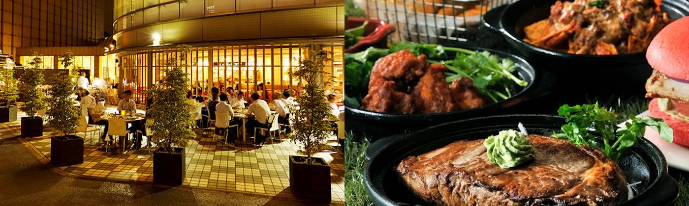 ICHOZAKA BEER GARDEN OUTDOOR TERRACE/品川プリンスホテル