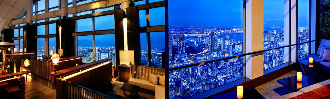 Rooftop Bar・ the SUSHI/アンダーズ 東京