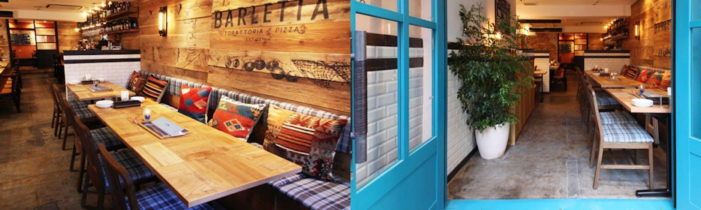トラットリア&ピッツァ バルレッタ 銀座7丁目店