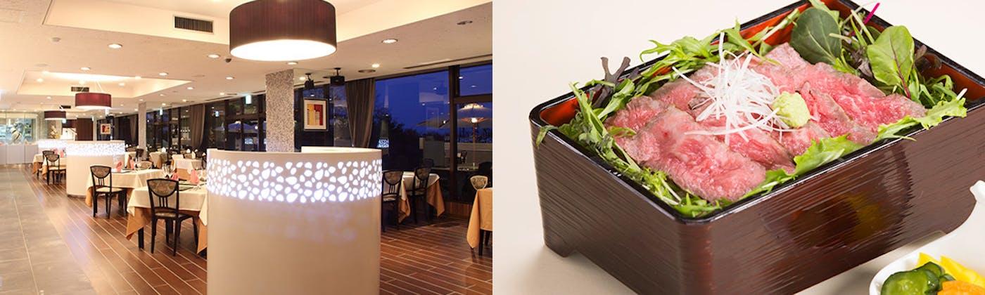 レストラン ラ・テラス/那須高原 ホテルビューパレス