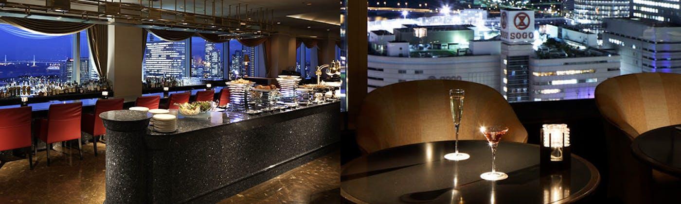 スカイラウンジ 「ベイ・ビュー」/横浜ベイシェラトン ホテル&タワーズ
