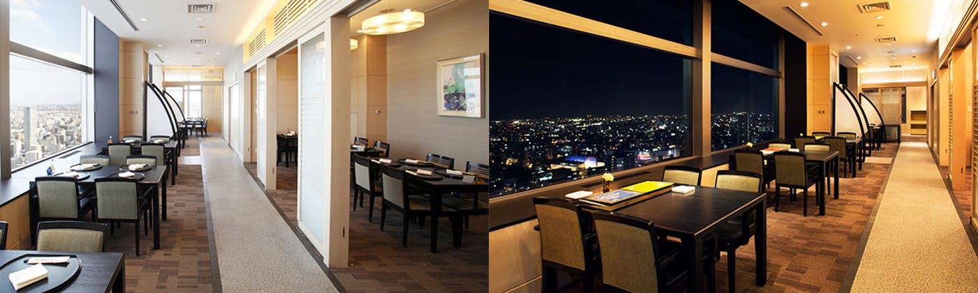 スカイレストラン「丹頂」/JRタワーホテル日航札幌