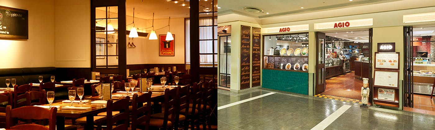 マーケットレストラン AGIO ルミネ横浜店