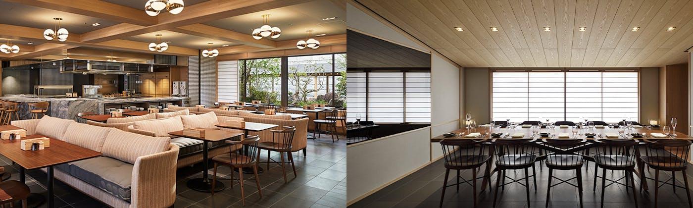 ホームスタイルカフェ「KYOTO BISTRO」/パークハイアット京都