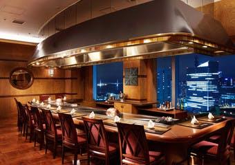 鉄板焼 さがみ/横浜ベイシェラトン ホテル&タワーズ