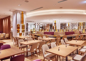 バイキングレストラン「ル・プレジール」/都ホテル 京都八条(旧 新・都ホテル)