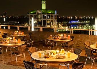 海の見えるビアガーデン「はまビア!」/ヨコハマ グランド インターコンチネンタル ホテル