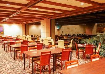 窓外に箱根外輪山の雄大な自然を望む眺望が魅力のレストラン。シェフこだわりの和洋のお料理をご用意しております。