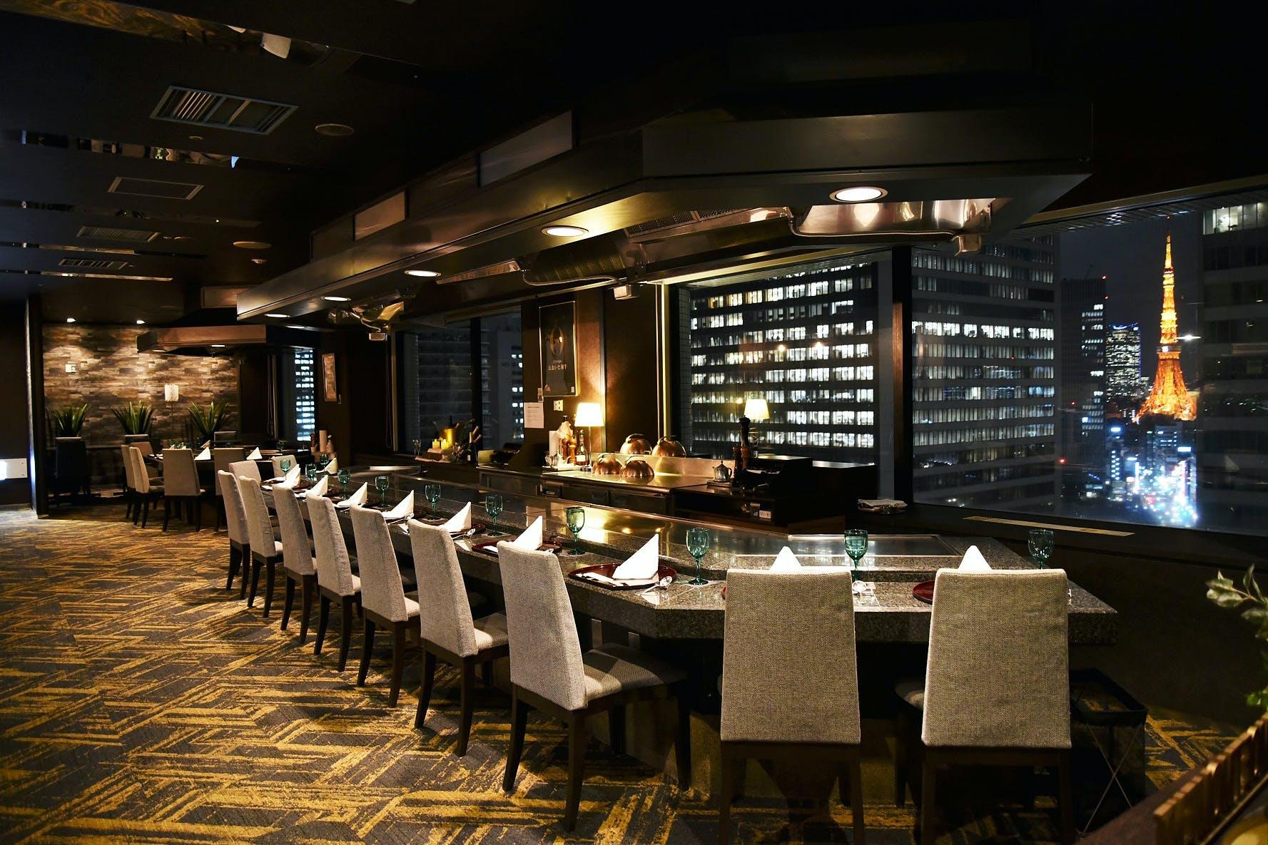 鉄板焼き 天燈 Ran Tan/ホテルアジュール竹芝