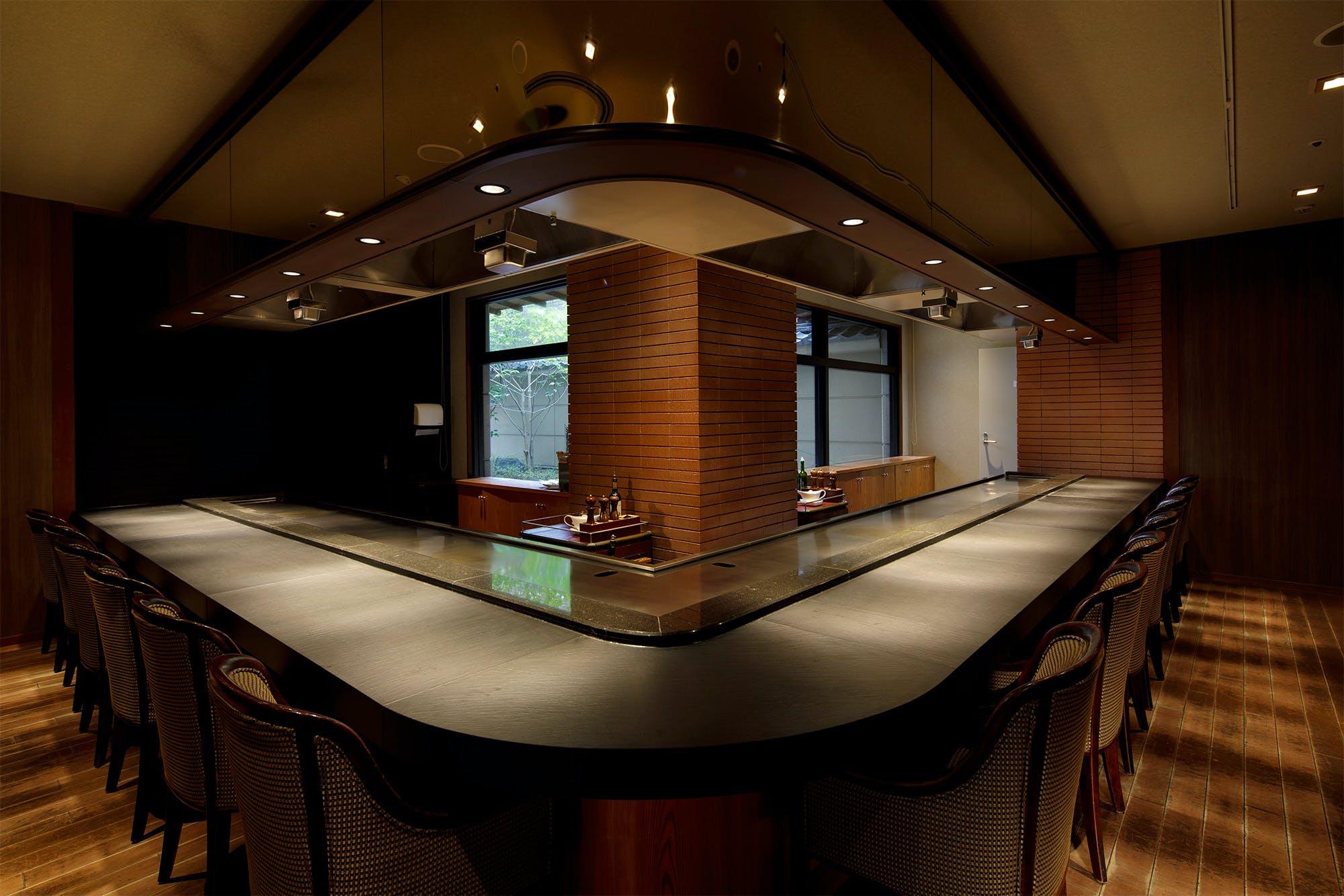 鉄板焼 七つ森/仙台ロイヤルパークホテル